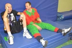 Coach Uli und Martin
